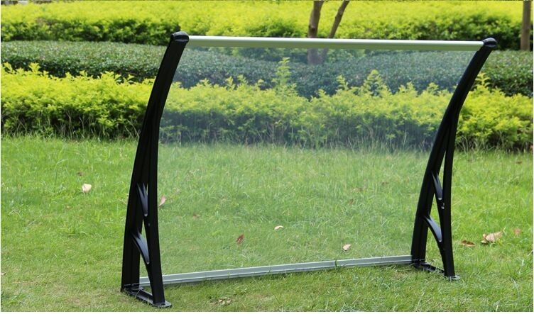 Solid PC Polycarbonate Garden Canopy Customized Color Resisting High Temperature